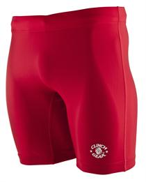 Clinch Gear Training Compression Shorts - Red